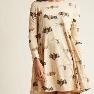 Pepaloves bat print dress